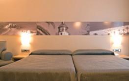 habitaciones hotel calella