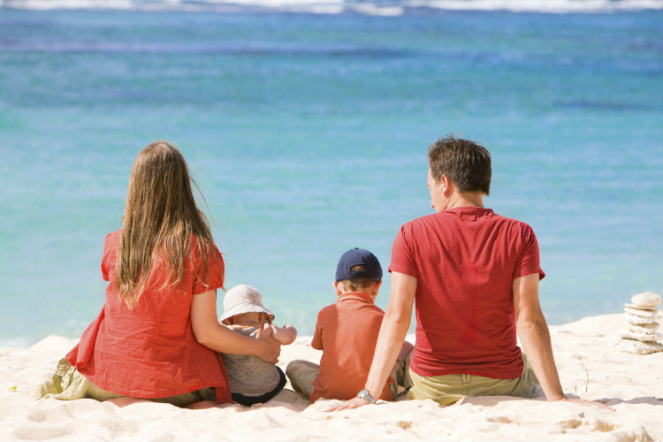 Vacaciones en familia en Callela