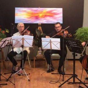 Cecilia Quartet concert de Festival Nits d'Estiu 2021 cartell Calella turisme Familiar